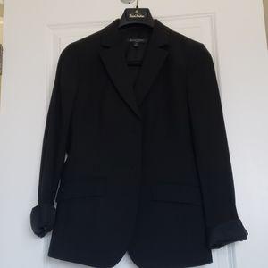 Black Brooks brothers wool classic blazer